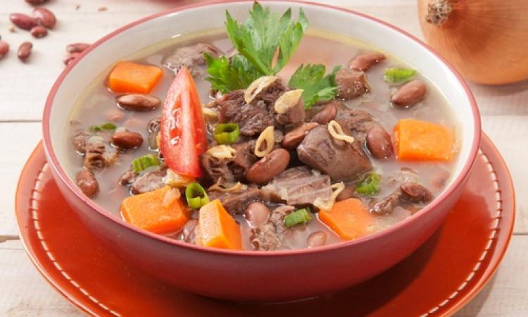 Resep Sayur Sup Kacang Merah Daging Sapi