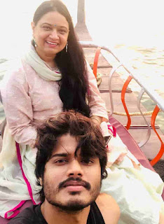 Anand Devarakonda With His Mother