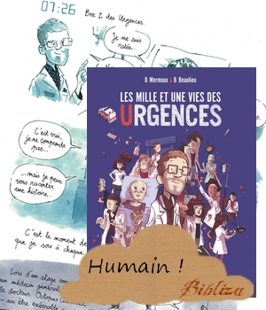 Les mille et une vies des urgences Baptiste Beaulieu France Inter Mermoux BD Interne