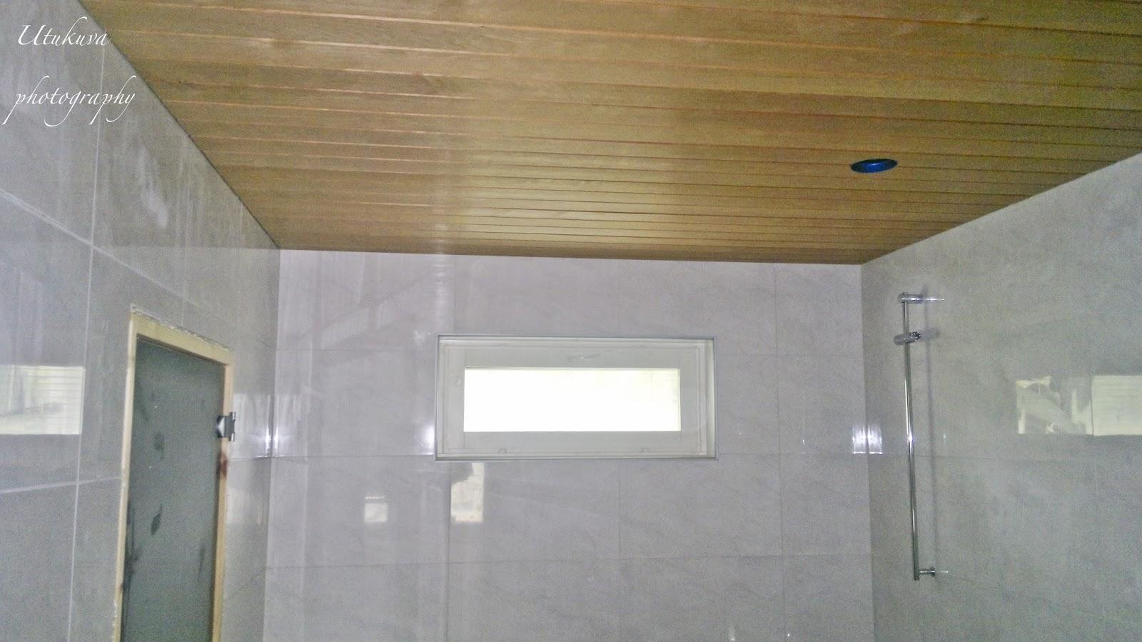Pesuhuoneen Katon Panelointi