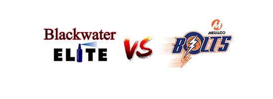 Blackwater Elite vs Meralco Bolts - 4:15pm
