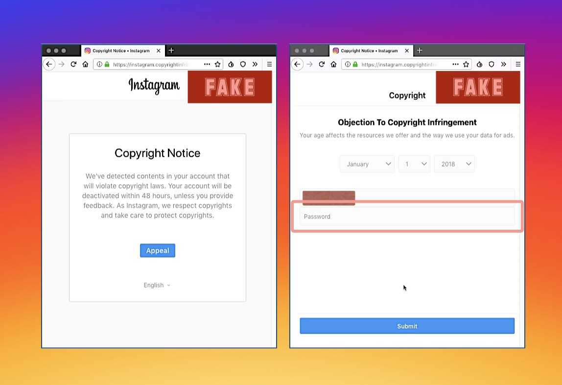 Beware: Instagram Phishing Attack can Easily Get All Your Personal Information