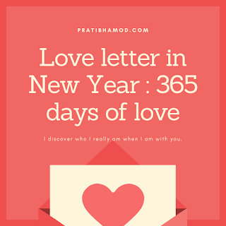 Love Letter In New Year: 365 Days of Love