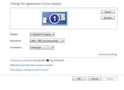Cách thay đổi độ phân giải màn hình windows 7,8,10