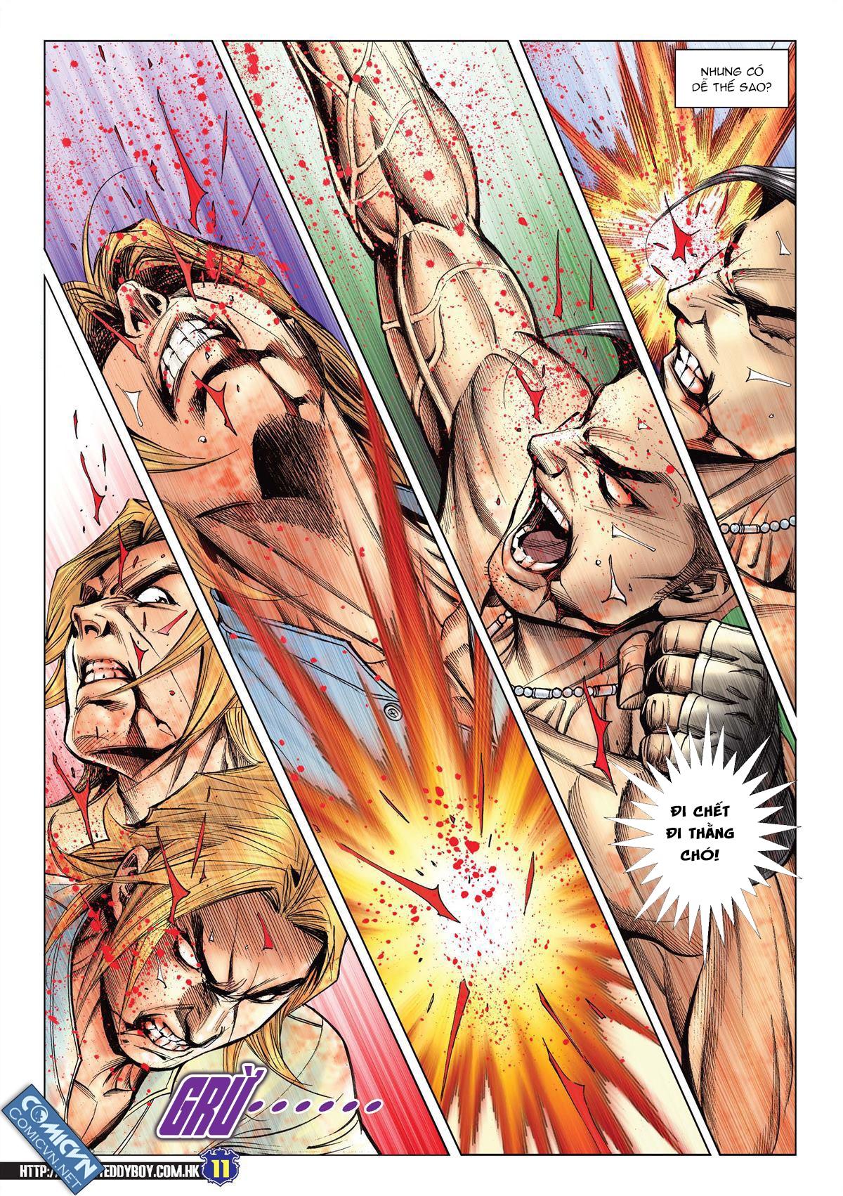 Người Trong Giang Hồ chapter 2138: thắng hết khí thế thua vì đen trang 9