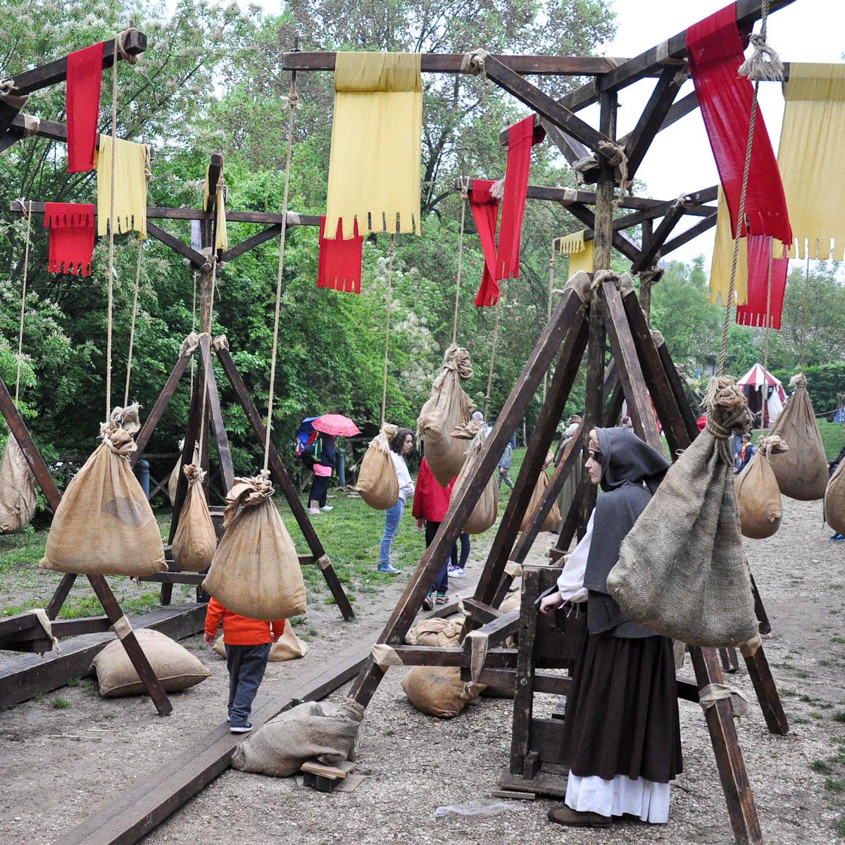 Medieval playground, Romeo and Juliet Festival - Faida, Montecchio Maggiore, Veneto, Italy