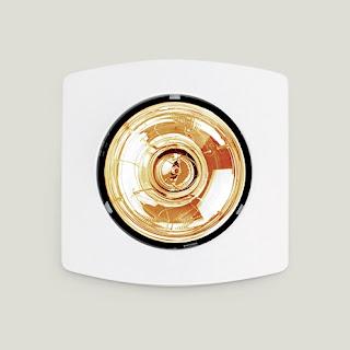 đèn sưởi hồng ngoại âm trần phòng tắm