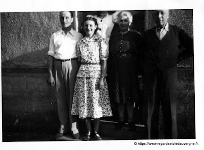 Photo ancienne de  Papy et Mamy #France  #french #photography #vintage