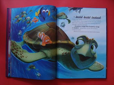 Gdzie jest Dory, Nemo, książka, Egmont