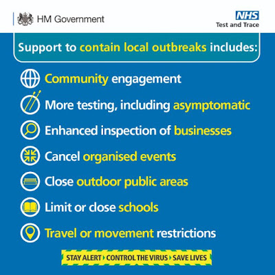 Local Government changes from 18th July 2020