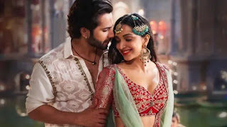 varun dhawan and kiara advani in song 'first class'