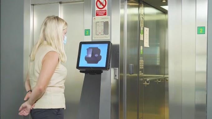 Extraer dinero o llamar al ascensor con la mirada es posible gracias a Hiru