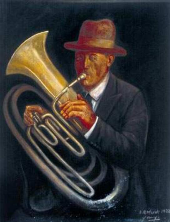 El músico colorao Secundino Rodríguez, 1922