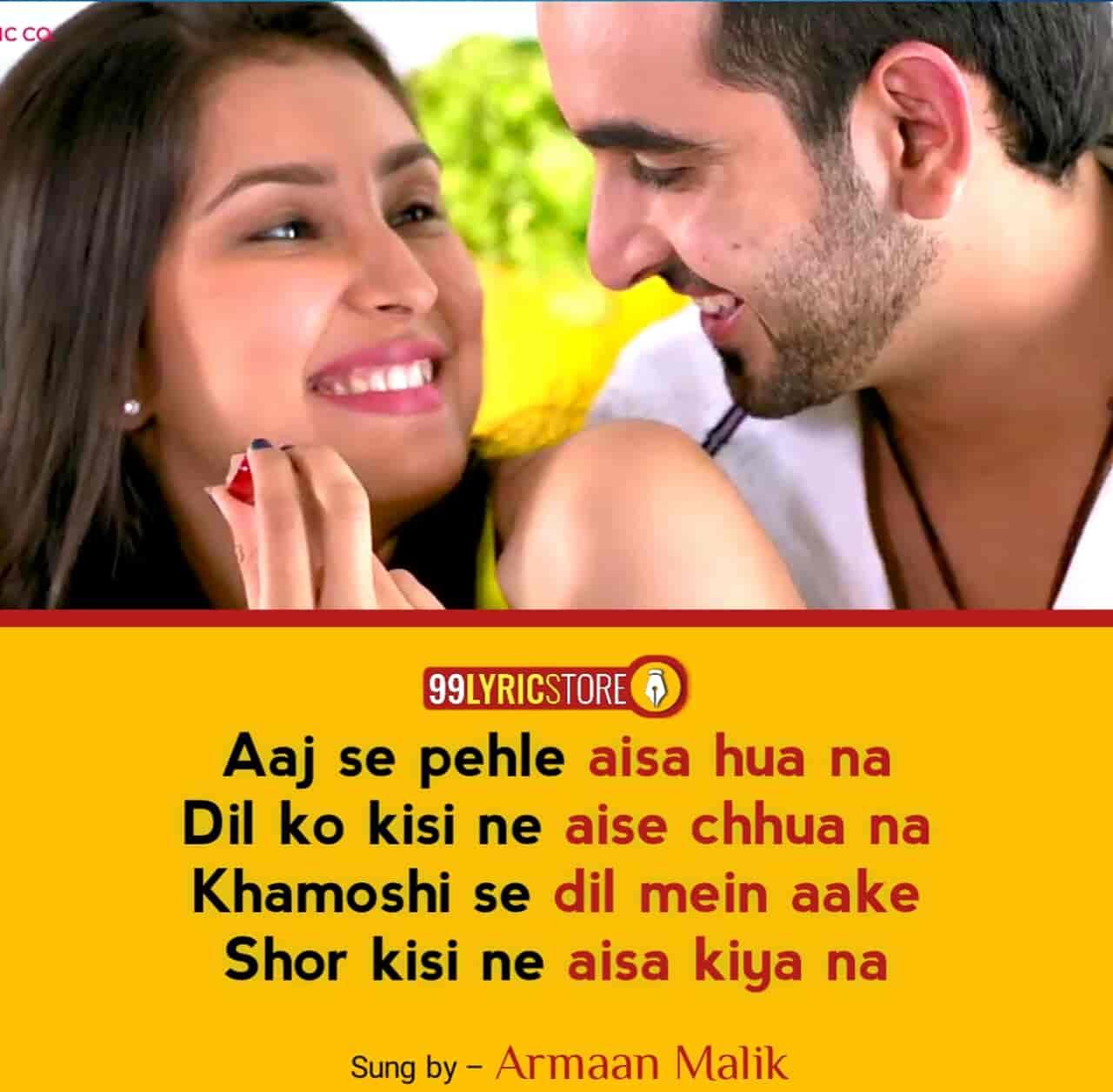 Aaj Se Pehle Armaan Malik Song Images