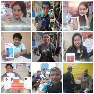 Pelanggan Alfacell ITC Cempaka Mas Jakarta