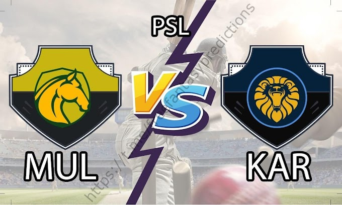 MUL vs KAR Today Match Prediction | Pakistan Super League 2020 | Who Will Win Today Match