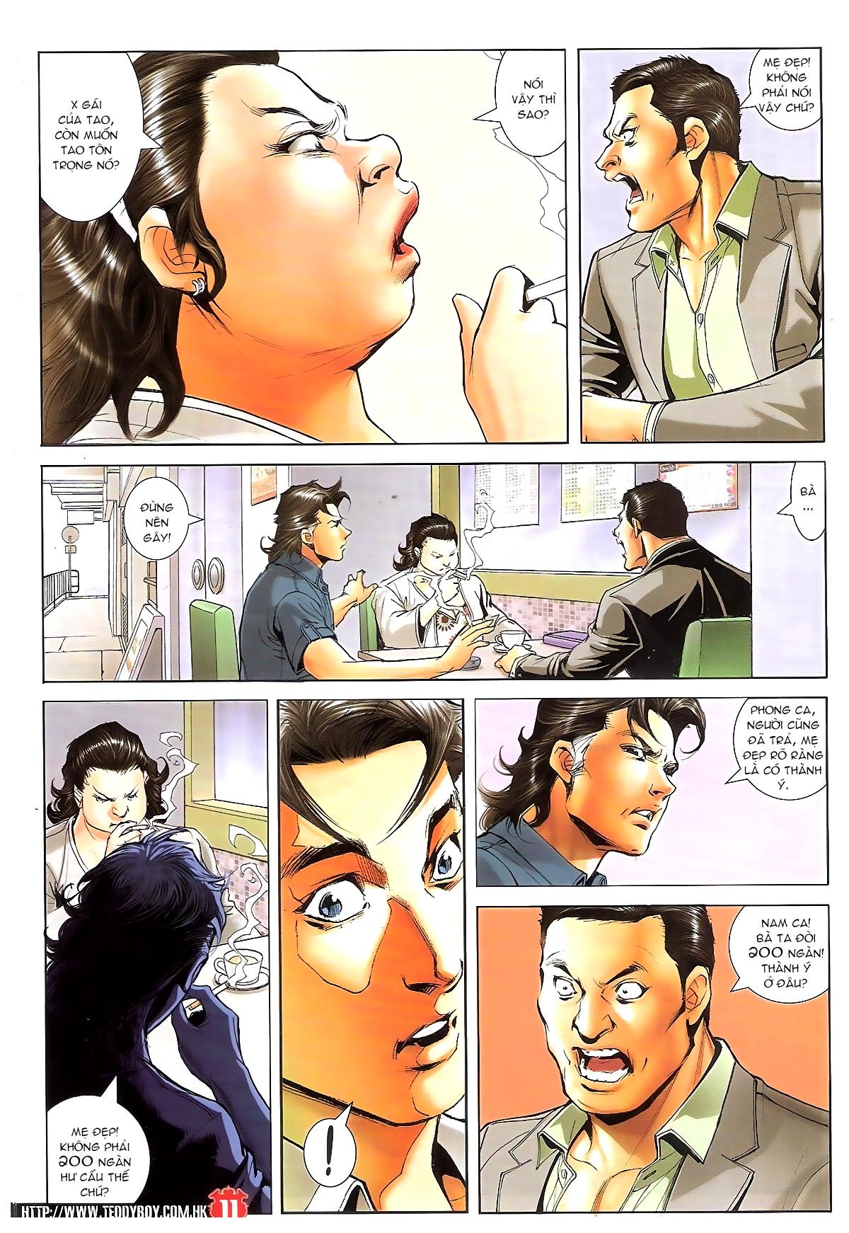 Người Trong Giang Hồ chapter 1648: tự tìm đường chết trang 9