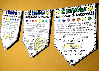 compound interest math pennant