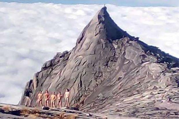 Malaysian Tribes Blame Quake on Tourists Nude Photos on