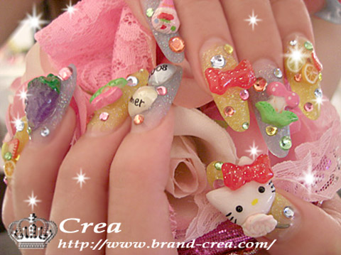 nailsbystephanie japanese kawaii harajuku nail art