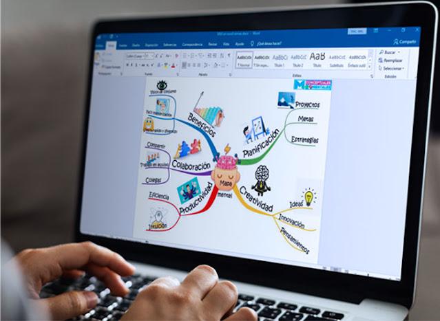 Ventajas de hacer mapas mentales en la computadora