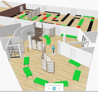 Plan 3D des Aventuriales - Ekhle et nanet