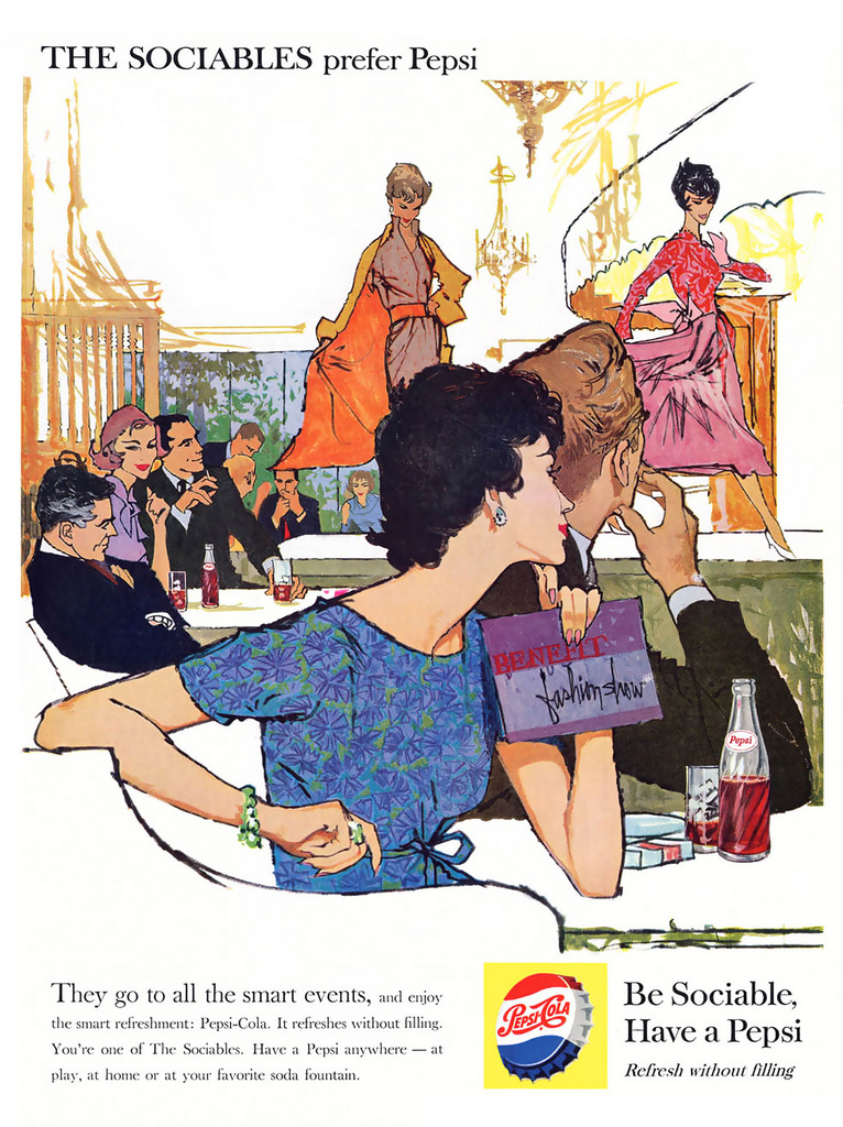 Pepsi Advertising Campaigns Of The 1950 S Vintage Everyday