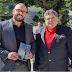 [News]Educação: Cônsul Manuel de Carvalho visita Castelo de Paiva para encontrar o neurofilósofo Fabiano de Abreu em projeto para a educação