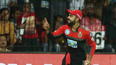 virat kohli action photo In RCB 2018