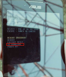 Flash asus zenfone 4 via SD card tanpa pc