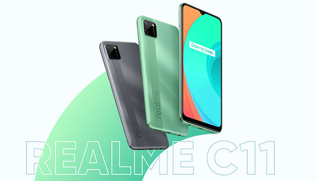 realme C11 Dare to Leap