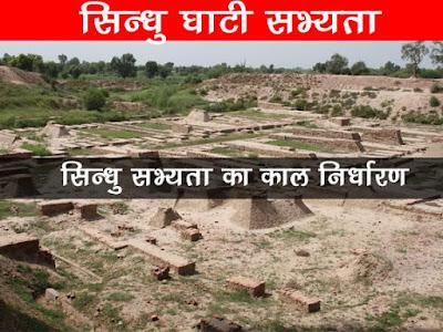सिन्धु सभ्यता का काल निर्धारण Period of Indus Civilization
