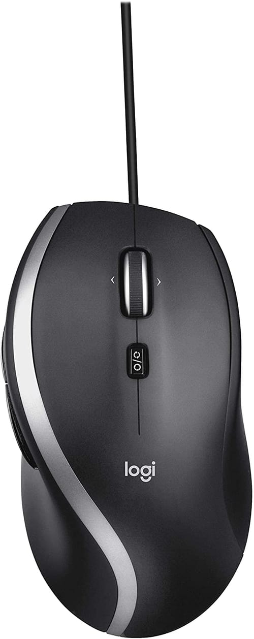 Review Logitech M500s Advanced Corded Mouse