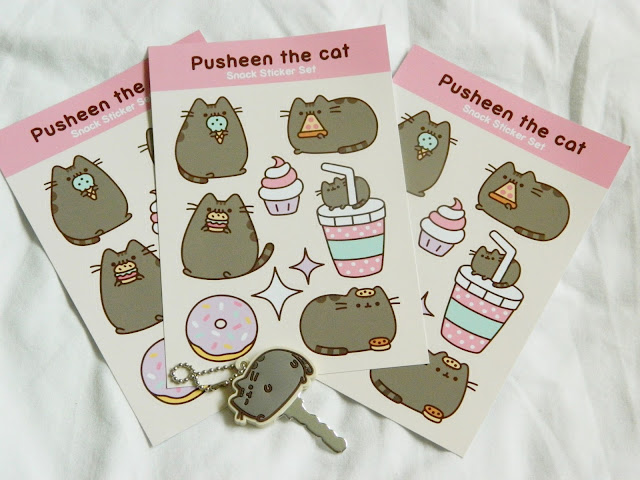 Pusheen Box, Pusheen, kawaii, Pusheen stickers, kawaii stationary,