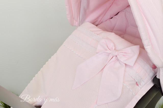saco silla Stokke Xplory rosa blanco
