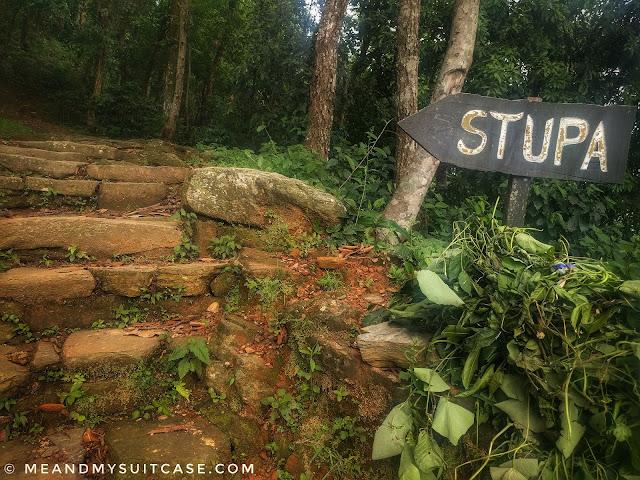 Hike Trail to Stupa