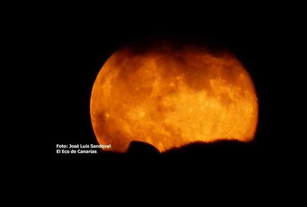 La superluna fría será el próximo 3 de diciembre/ Foto: José Luis Sandoval