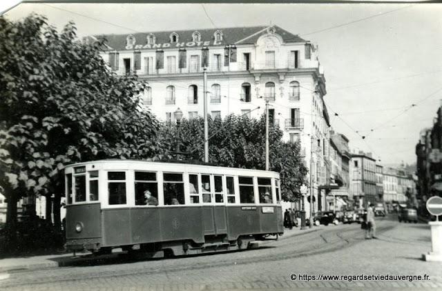 Tramway de Clermont-Ferrand hier.