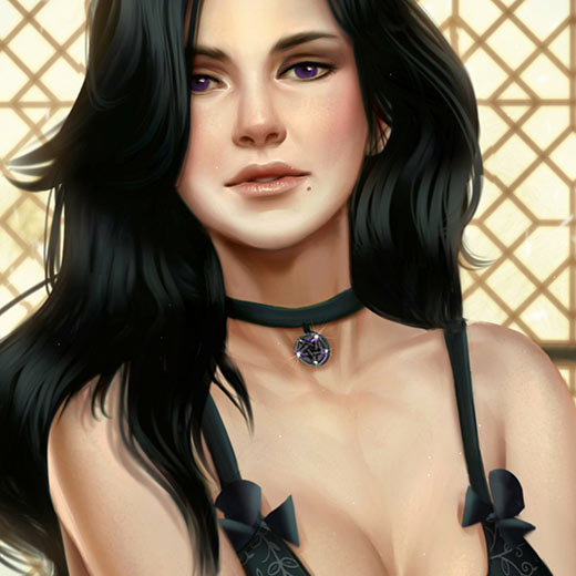 Animated Yennefer // The Witcher 3 Wild Hunt Wallpaper Engine