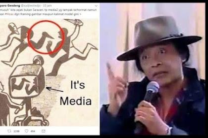 Sujiwo Tejo: Mungkin Musuh Kita Bukan Saracen, Tapi Media Terhormat yang Lakukan Hoax dengan Framing