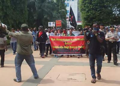 """Press Release: Aksi Demo Damai AMP KK Semarang-Salatiga """"Cabut Resolusi PBB 2504"""""""