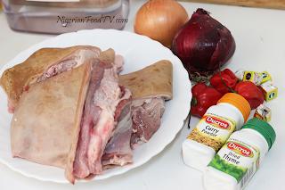 Nigerian Asun recipe ingredients , Nigerian Asun Recipe ( spicy smoked peppered goat meat) asun | Nigerian Small Chop, nigerian fod tv