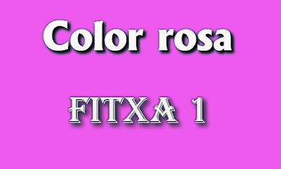 Color rosa (fitxa 1)