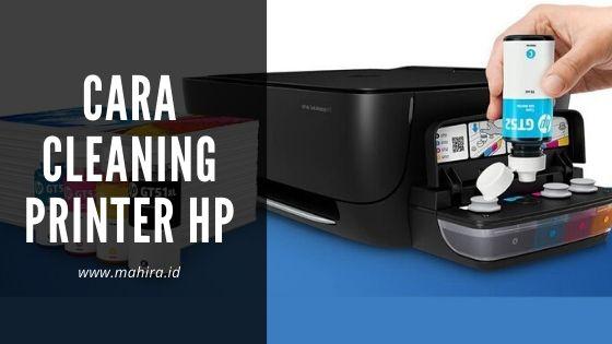 Cara Cleaning/Maintenance Printer HP Deskjet