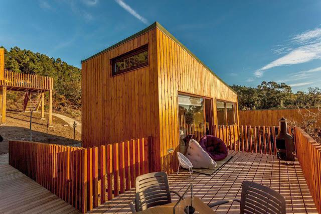 Hotel cabaña en Carnota