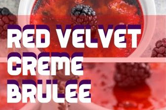 Red Velvet Creme Brulee