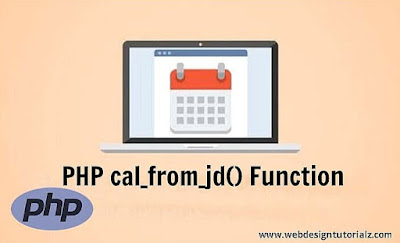 PHP cal_from_jd() Function