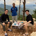 Yorme Isko Moreno gets snap happy having a cup of coffee with son JD Domagoso in Benguet