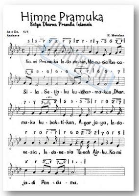 Lirik Hymne Pramuka