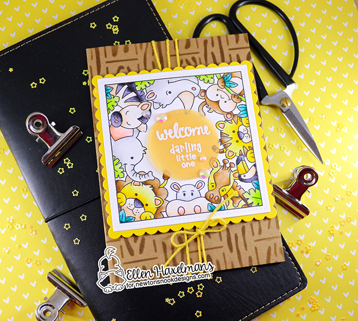 #newtonsnook #newtonsnookdesigns #handmadecard #cardmaking #stamping #hellocard #friendshipcard #nnd #card #handmade #stampset #dieset #paperart #hobby #drawing  #bittybibsstampset #zigmarkers #zigclearcolorrealbrush #ZigCleanColorBrushMarkers #zoopartystampset #LoveableLaundrystampset